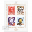 Peterspost St. Petersburg, All time Philately, Block (4 Werte) postfrisch