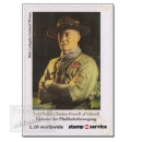 stampservice Wilfersdorf - stamp for you, Lord Robert Baden-Powell of Gilwell, Markensatz (1 Wert) postfrisch