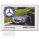 stampservice Wilfersdorf - stamp for you, Mercedes SL-Club, Markensatz (1 Wert) postfrisch