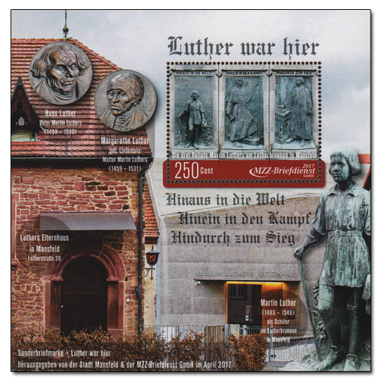 Luther in Mansfeld